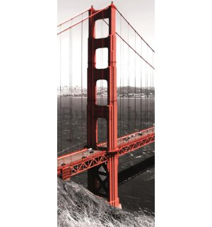 Foto tapeta samoljepljiva: Golden Gate Bridge (1) - 211x91 cm