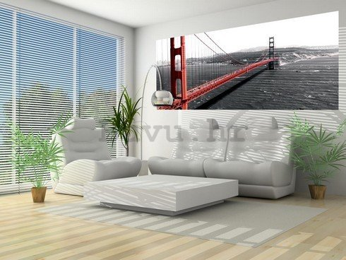 Foto tapeta: Golden Gate Bridge (1) - 104x250 cm