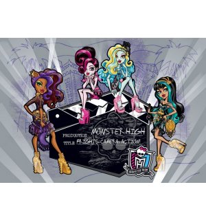 Foto tapeta: Monster High (4) - 254x368 cm