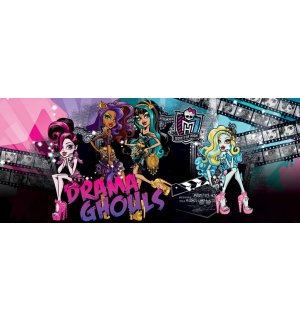 Foto tapeta: Monster High (Drama Ghouls) - 104x250 cm