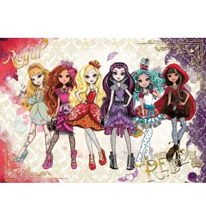 Foto tapeta: Mattel Ever After High (2) - 254x368 cm