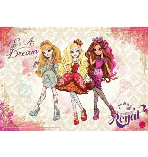 Foto tapeta: Mattel Ever After High (3) - 254x368 cm