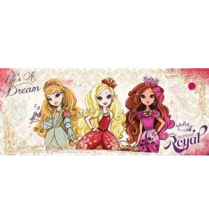 Foto tapeta: Mattel Ever After High (3) - 104x250 cm