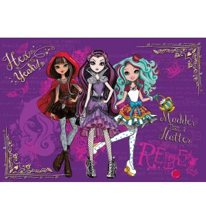 Foto tapeta: Mattel Ever After High (4) - 184x254 cm