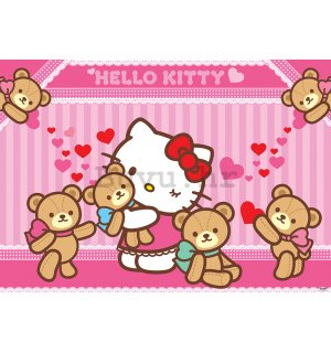 Foto tapeta: Hello Kitty (2) - 254x368 cm