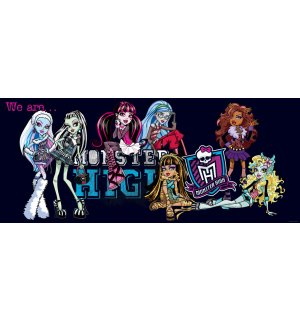 Foto tapeta: Monster High (5) - 104x250 cm