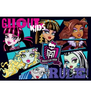 Foto tapeta: Monster High (6) - 254x368 cm