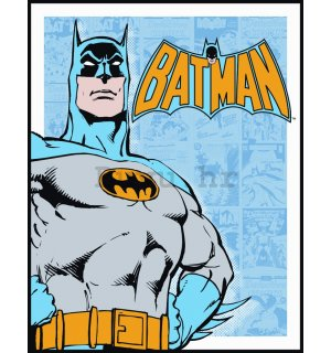Metalna tabla - Batman (Retro Panels)
