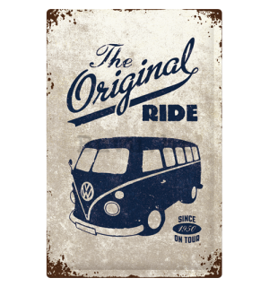 Metalna tabla: VW The Original Ride - 60x40 cm