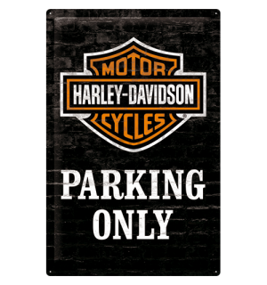 Metalna tabla - Harley-Davidson (Parking Only)