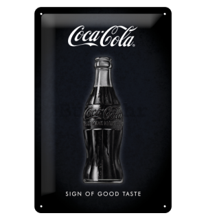 Metalna tabla: Coca-Cola (Sign of Good Taste) - 30x20 cm