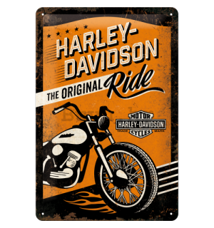 Metalna tabla - Harley-Davidson (The Original Ride)