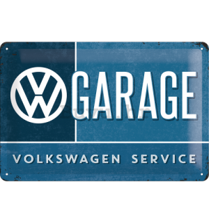 Metalna tabla - VW Garage