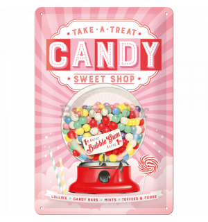 Metalna tabla - Candy (Sweet Shop)
