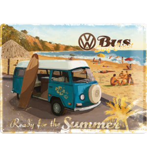 Metalna tabla - VW Bus (Ready for the Summer)