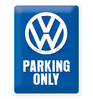 Metalna tabla - Volkswagen Parking Only