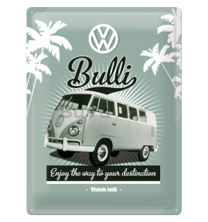 Metalna tabla - VW Retro Bully