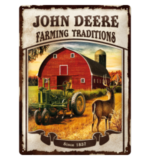 Metalna tabla - John Deere (Farming traditions)