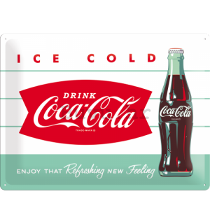 Metalna tabla - Coca-Cola (Ice Cold)