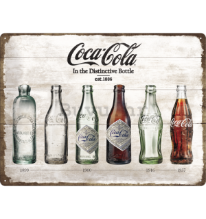 Metalna tabla - Coca-Cola (boce)