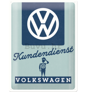 Metalna tabla - Volkswagen (Kundendienst)