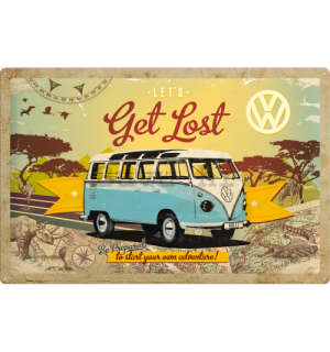 Metalna tabla - VW Let's Get Lost