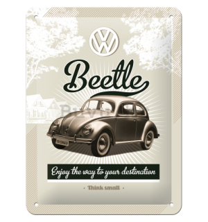 Metalna tabla - VW Retro Beetle