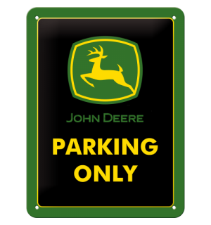 Metalna tabla - John Deere Parking Only