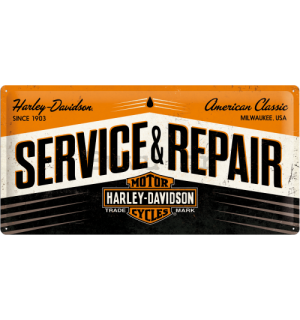 Metalna tabla - Harley & Davidson (Service & Repair)