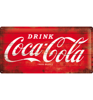 Metalna tabla - Coca-Cola (logo)