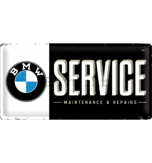 Metalna tabla - BMW Service