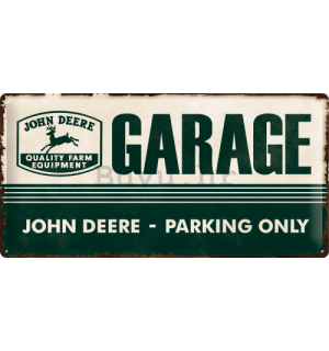 Metalna tabla - John Deere (Garage)