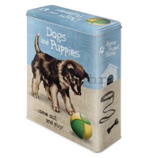 Metalna doza XL - Dogs and Puppies
