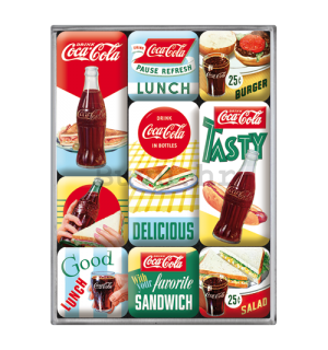 Set magneta - Coca-Cola (Tasty Lunch)