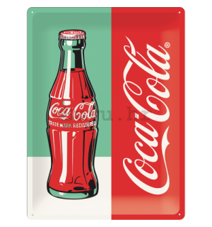 Metalna tabla: Coca-Cola Pop Art (1) - 40x30 cm