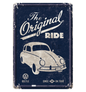 Metalna razglednica - VW Beetle (The Original Ride)