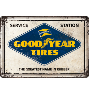 Metalna razglednica - Good Year Tires