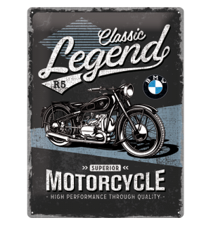 Metalna tabla: BMW Classic Legend R5 - 40x30 cm