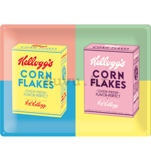 Metalna tabla: Kellog's Corn Flakes (Pop Art) - 30x40 cm