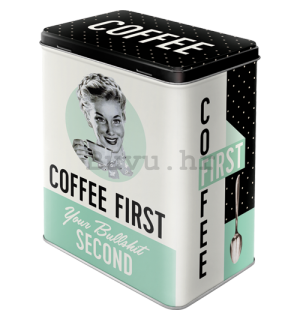 Metalna doza L - Coffee First