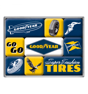 Set magneta - Good Year Tires