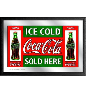 Ogledalo - Coca-Cola (Ice Cold Sold Here)