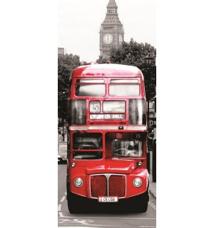 Foto tapeta: LONDON Spirit - 211x91 cm