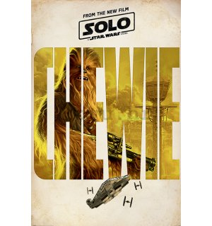 Poster - Solo A Star Wars Story (Chewie Teaser)