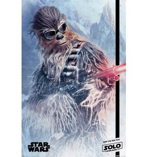Poster - Solo A Star Wars Story (Chewie Blaster)