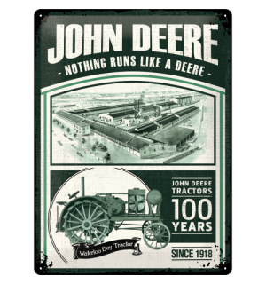 Metalna tabla - John Deere (100 Years)