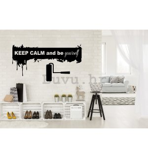 Naljepnica - Keep Calm and be Yourself