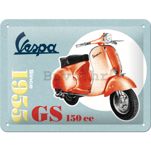 Metalna tabla: Vespa Since 1955 - 15x20 cm