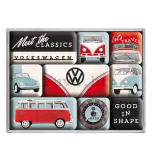 Set magneta - VW Meet The Classics