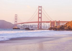 Foto tapeta Vlies: Golden Gate Bridge (4) - 184x254 cm